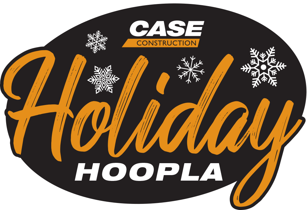 CASEConstruction Holiday Hoopla Logo