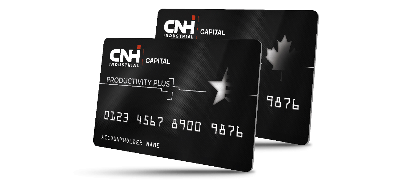 CNH Industrial Productivity Plus Cards