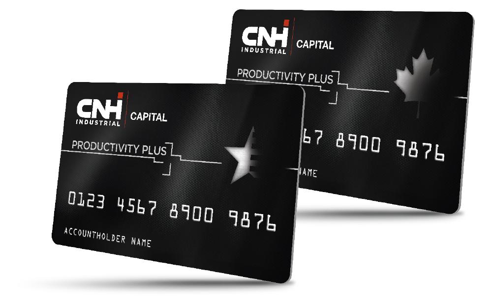 CNHiCapital ProductivityPlus cards