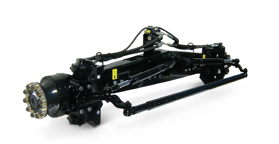 MudHog Rear‑Wheel Assist Axle