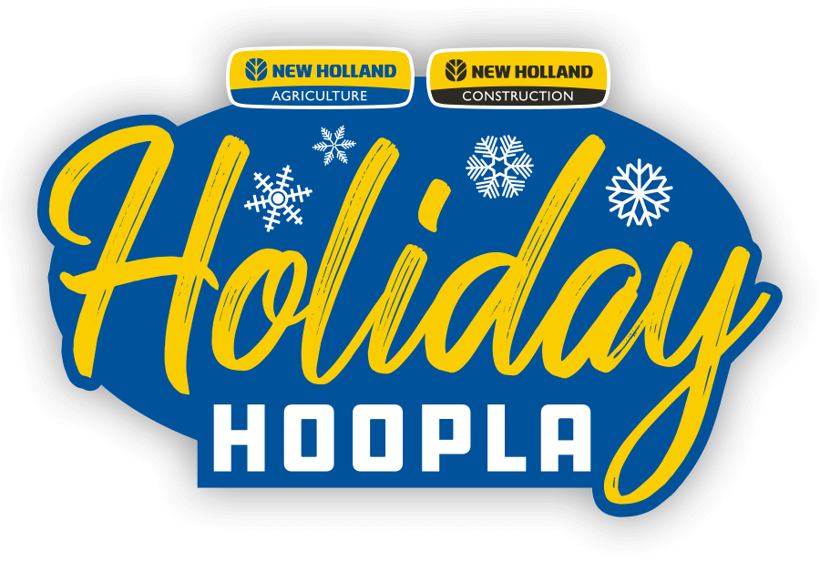 New Holland Holiday Hoopla Logo
